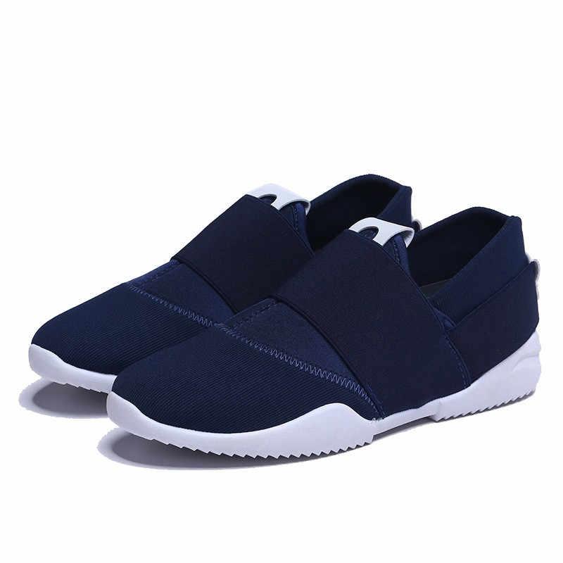 Thời Trang mới Krasovki Áo Khoác Nam Giày Thoáng Khí Trượt về Con Người Giày Thể Thao Sapato Masculino Confortable Giày