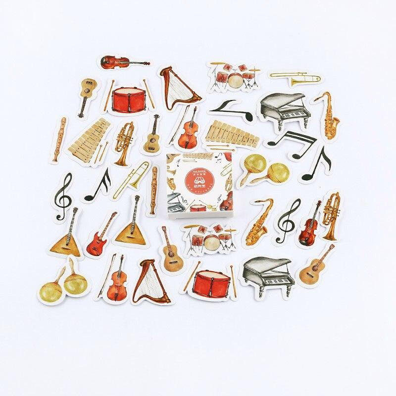 Mr. Бумаги 40 шт./кор. конфеты сказки деко наклейки для дневника Скрапбукинг планировщик японский Kawaii Декоративные Канцелярские наклейки - Цвет: F