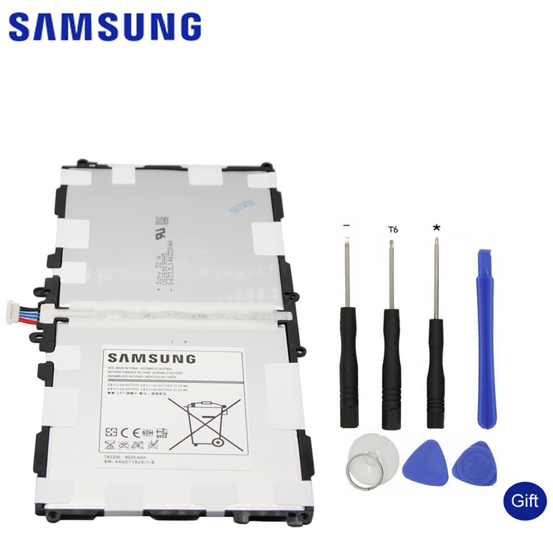 <font><b>Samsung</b></font> Телевизор с запасные Батарея <font><b>T8220E</b></font> для <font><b>samsung</b></font> GALAXY Note 10,1 Tab Pro 10,1 P600 P601 P605 SM-P607 SM-T520 SM-T525 8220 мАч