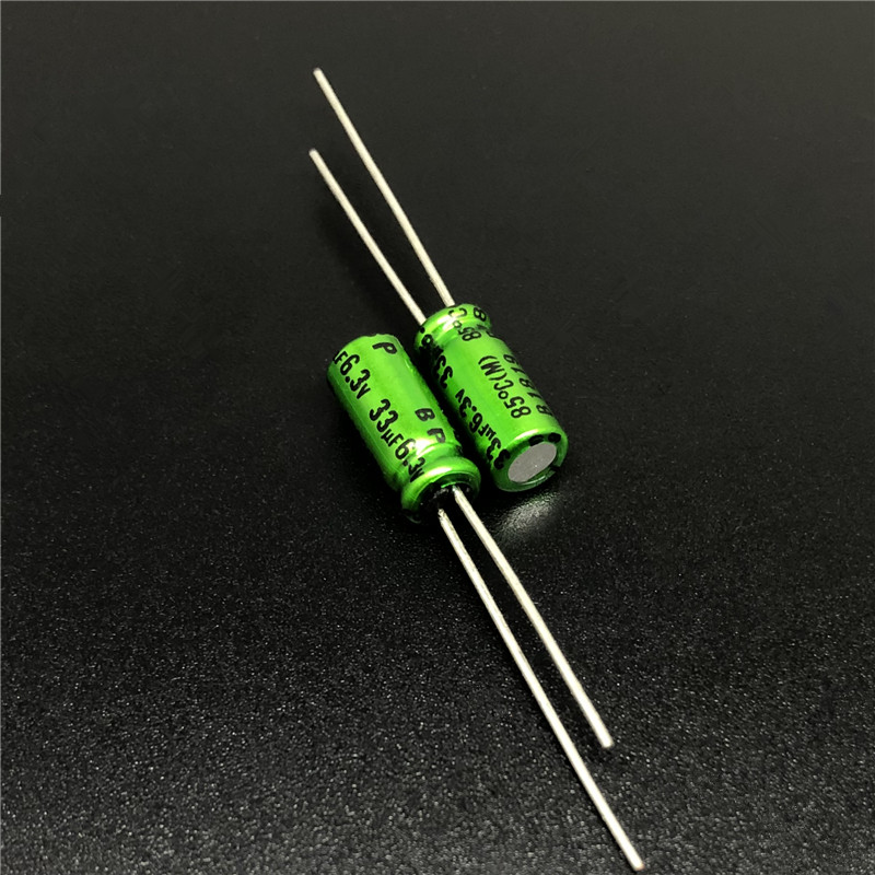 10Pcs 33uF 6.3V NICHICON Muse BP 5x11mm 6.3V33uF Top Grade Bipolar Audio Capacitor