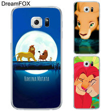 DREAM FOX L201 Lion King Soft TPU Silicone Case Cover For Samsung Galaxy Note 3 4 5 8 S5 S6 S7 Edge S8 Plus Grand Prime