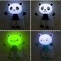Creativa Lámpara de Noche Del Bebé Animal de la Historieta Diseño Emocional Bedlight