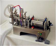 50-500ML Semi-Automatic Double Head Pneumatic Liquid Shampoo Filling Machine Paste filling machine auto filler,pneumatic filler