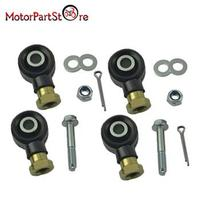 2 Sets Right Left Tie Rod End Kit For Polaris Sportsman 500 HO 2006 2007 2008