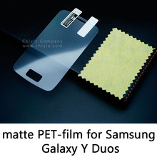 Glossy Lucent Frosted Matte Tempered Glass Protective Film Screen Protector For Samsung Galaxy Y Duos S6102