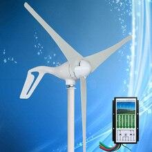 Новое поступление мини ветряной турбины генератор энергии ветра 400 Вт, в сочетании с гибридным ветряным солнечным контроллером 12 В/24 В Авто