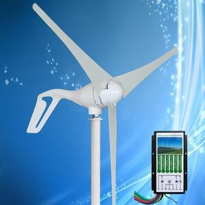 Image 1 - 2020 חדש הגעה מיני טורבינת רוח גנרטור 400W רוח מחולל כוח, לשלב עם היברידי רוח שמש בקר 12V/24V אוטומטי