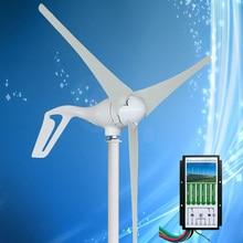 2020 New Arrival Mini wiatr Generator z turbiną 400W wiatr Generator prądu, W połączeniu z hybrydowego wiatru kontroler słoneczny 12V/24V Auto