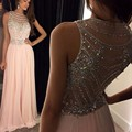 Special Occasion Pearl Beading Woman robe de soiree Formal Long Evening Dress Gowns Party Dress OL102896