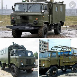 RBR/C WPL B24ZH RTR 1/16 Soviet GASS66 remote control military command vehicle 4 wheel drive off-road remote control car