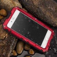 For Iphone 5 SE Luxury Doom Armor Dirt Shock Waterproof Metal Aluminum Phone Cases For Iphone