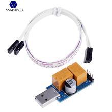 Vakind USB сторожевой таймер карты двойной реле 24 ч без присмотра автоматический перезапуск с сброса Управление кабель 40 см для добычи шахтер PC