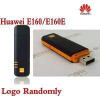 הרבה 200 יחידות סמארטפון HUAWEI E160/E160e 3 גרם לאינטרנט בפס רחב נייד USB Dongle/מודם (לוגו באופן אקראי), DHL חינם