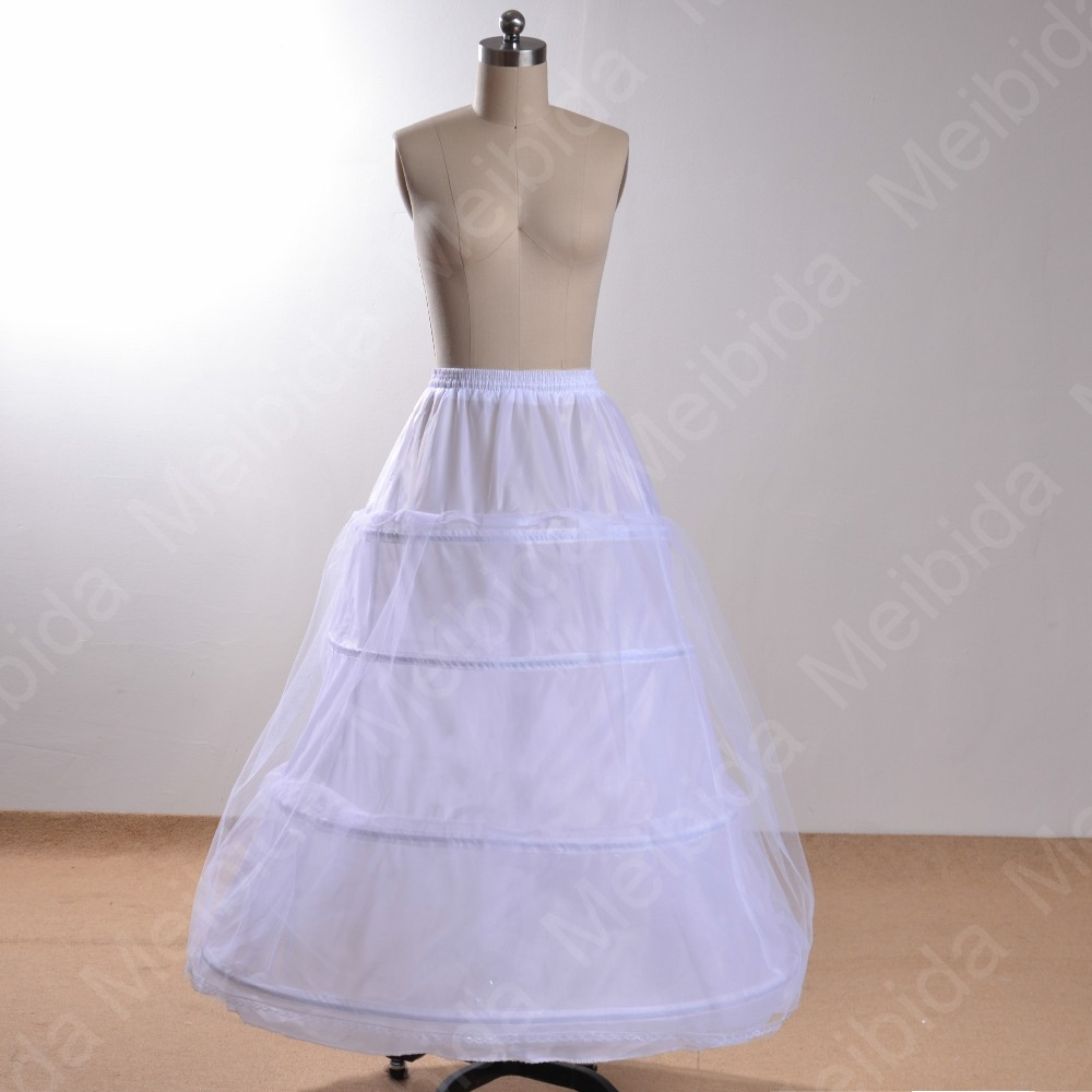 Petticoats For Wedding Dress Hoop Skirt With Four Hoops Organza ...