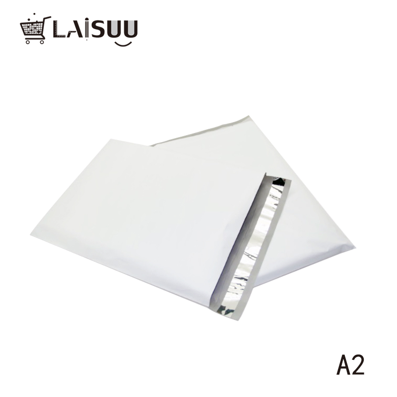 50pcs 19*27cm A2 high quality logistics package express bag factory direct customizable white mail