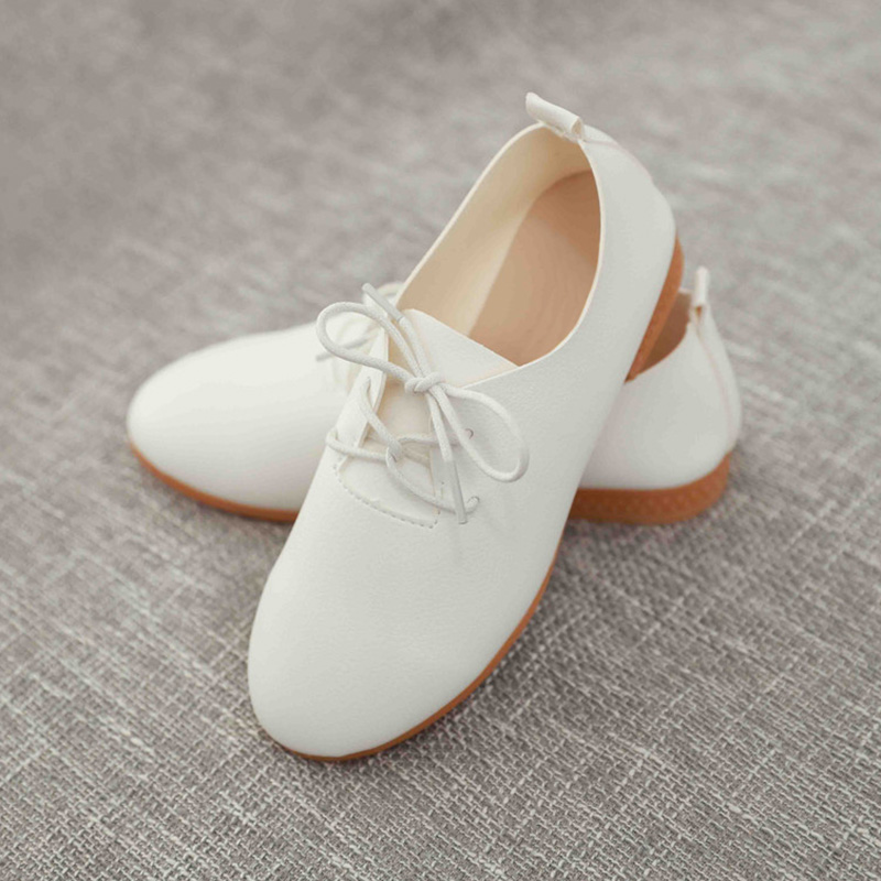 Stylish Toddler Girls Kids Wedding Party Dance Pu Shoes Walking Shoes Sandals ...
