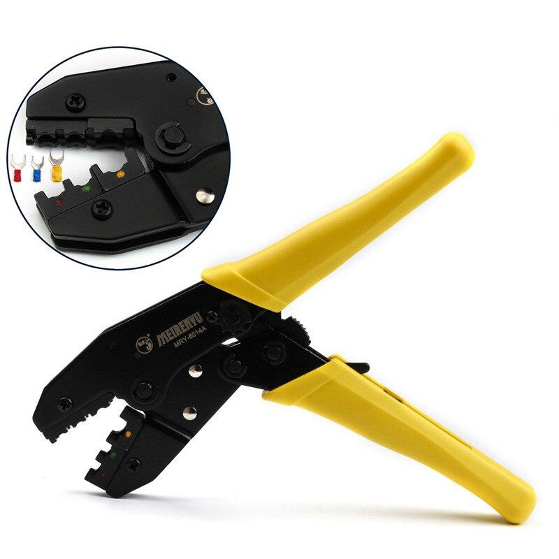 ZENHOSIT 0.5-6.0mm2 Crimping Pliers for Cable Cutters Network Tools Crimper AWG 22-10 Terminals Ratcheting Crimp Pliers