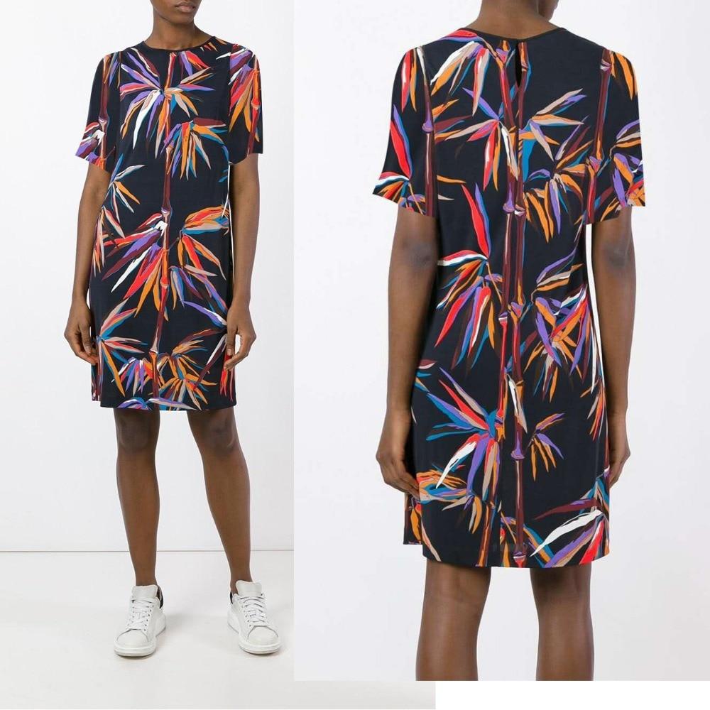 Manches De Soie ModeBelle ChinoisBambou Style Femmes Slim Dress CourtesÉlastique À Nouveau Noir Jersey nwP0OX8k