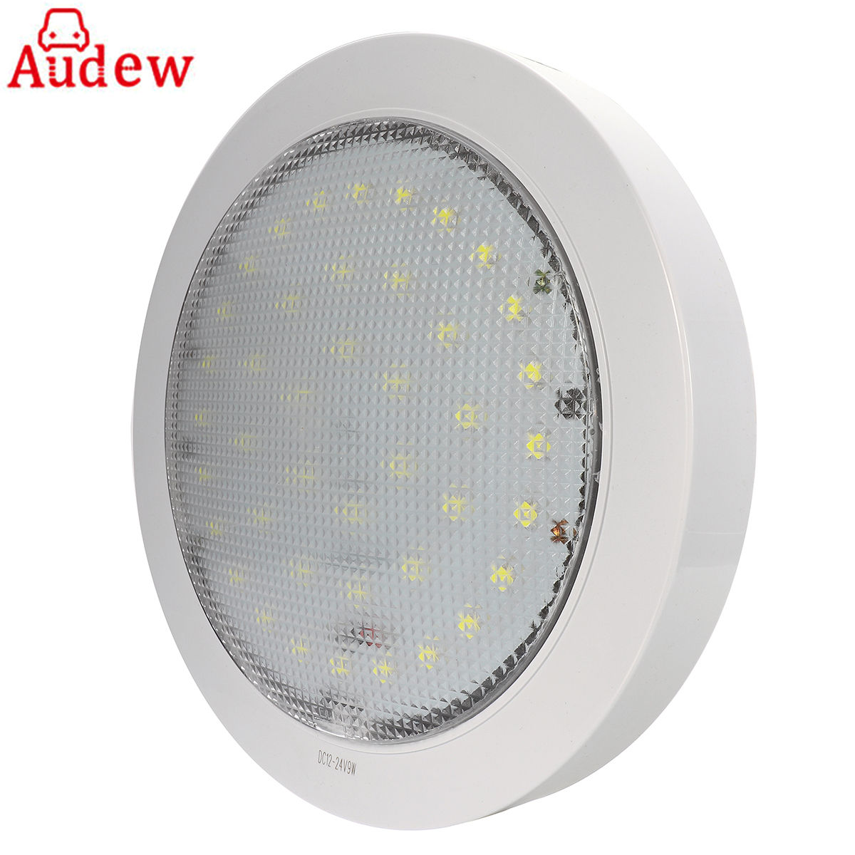 42LED 5050SMD Warm White Car Roof Ceiling Interior Reading Dome Light For Camper Car RV Boat Trailer DC 12V -24V