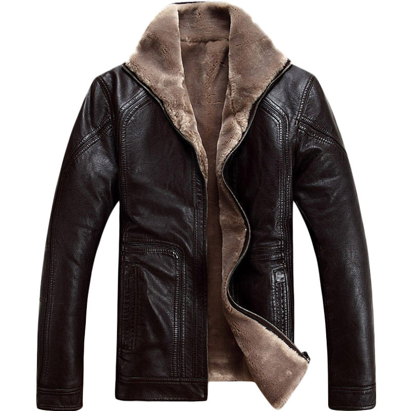 Online Get Cheap Men Leather Jacket Fur -Aliexpress.com | Alibaba ...