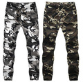 2016 HOT Dnine autumn army fashion hanging crotch jogger pants patchwork harem pants men crotch big Camouflage pants trousers