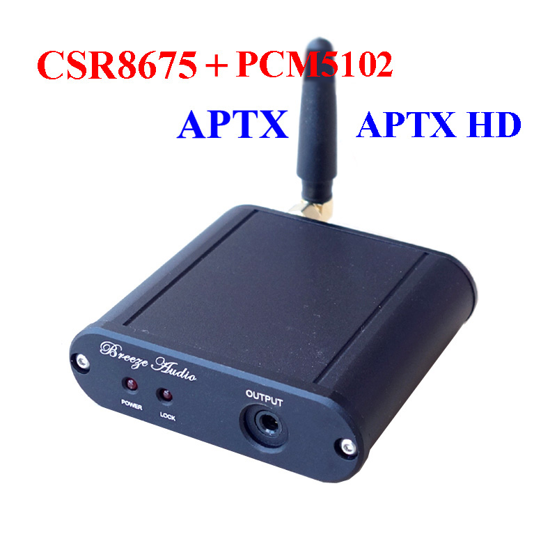 Digital-to-analog Converter Csr8675 Bluetooth 5.0 Audio Received Wireless Pcm5102 Dac Decoder 24bit Aptx Hd Built-in Driver Chip T0278 Latest Technology Portable Audio & Video