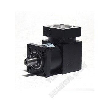 Right Angled Planetary Speed Reducer 36 :1 Gearbox 90degree Angle Reversing Corner 8mm 6mm Input for NEMA23 57mm Stepper Motor