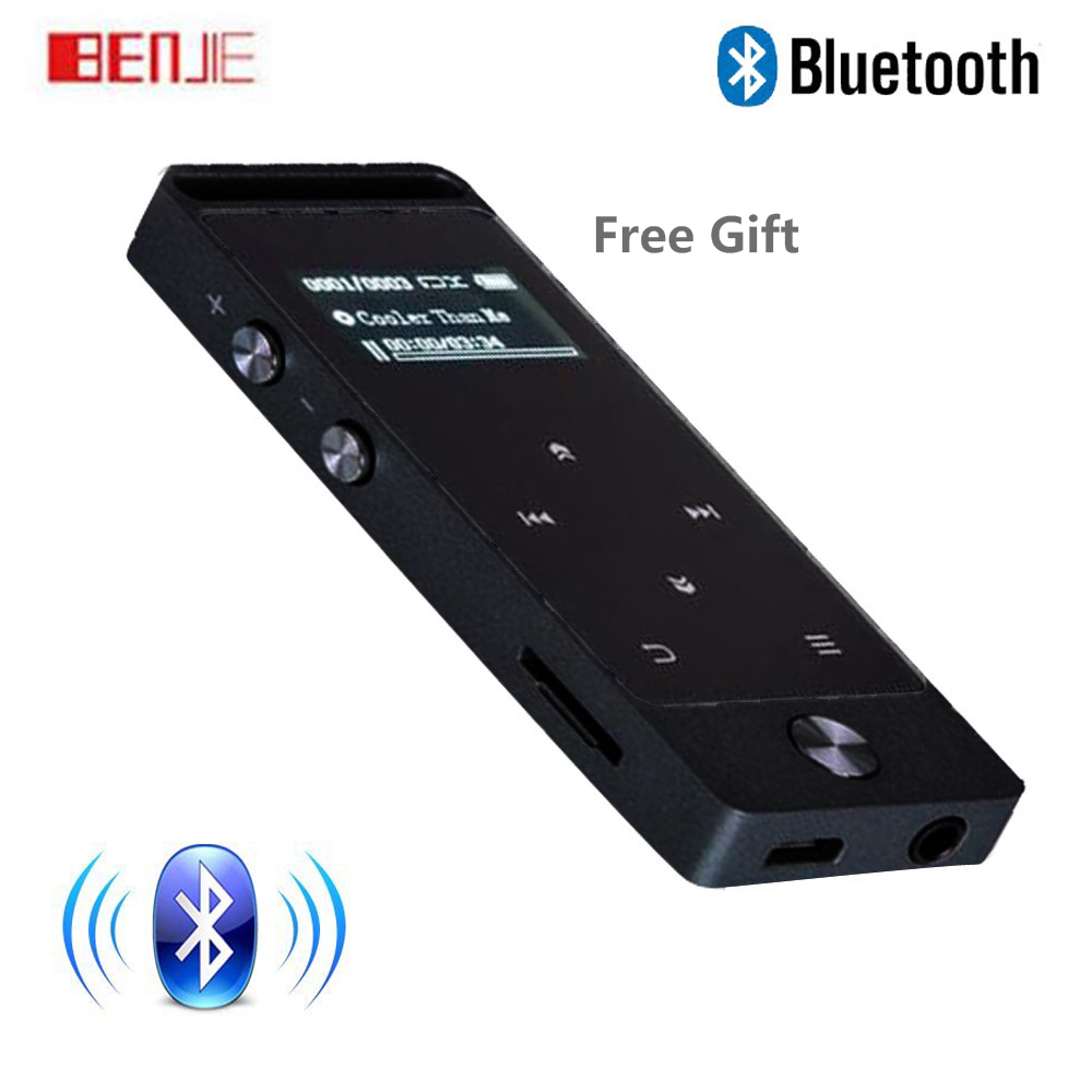 Touch Screen Bluetooth MP3 Player 8GB Original BENJIE S5B High Sound Quality Entry-level Lossless Music Player with FM Radio car mp5 player bluetooth hd 2 din 7 inch touch screen with gps navigation rear view camera auto fm radio autoradio ios