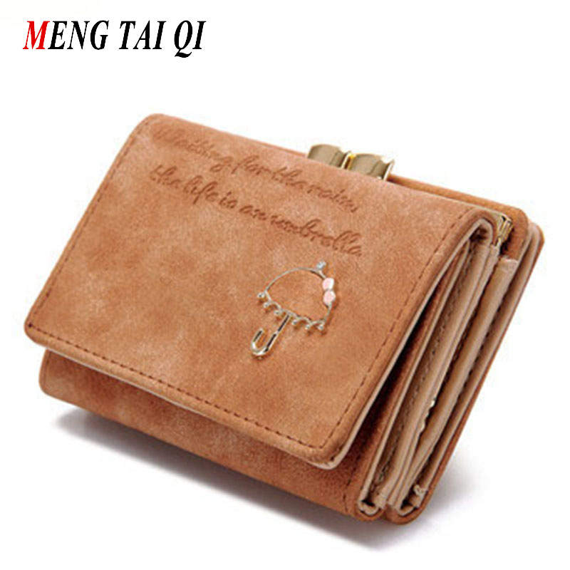 все цены на Fashion wallet women luxury brand leather coin purse women card holder short small clutch bag cute womens wallets and purses 5 онлайн