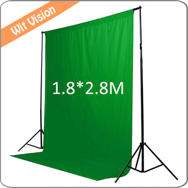 Green Background Cloth 180*280CM Photography Backdrop Photographic Lighting Studio Muslin Background free tax to russia new photographic equipment diamond cloth background backdrop new 3 6m muslin background cloth black