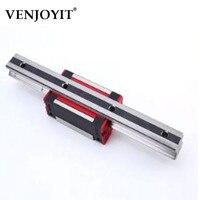 15mm L=1200mm Linear Motion Rail HGR15 + 2pcs Long Linear Carriage Rail Block HGW15CC for CNC XYZ Axis 3D Printer