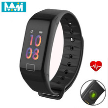 MMN Smart Bracelet F1 plus Sleep Monitor Fitness Tracker Heart Rate Smart Band Blood Pressure Watch Screen Activity Tracker Band smart watch m19 heart rate fitness bracelet sleep monitor smart tracker blood pressure smart band color screen band pk mi band 3