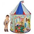 Nueva llegada del envío gratis de gran tamaño juguetes para niños, casa de juegos carpa de dibujos animados princesa juego castillo carpa carpa de circo para los niños
