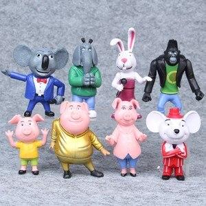 8pcs/set Cartoon Movie Sing Ac