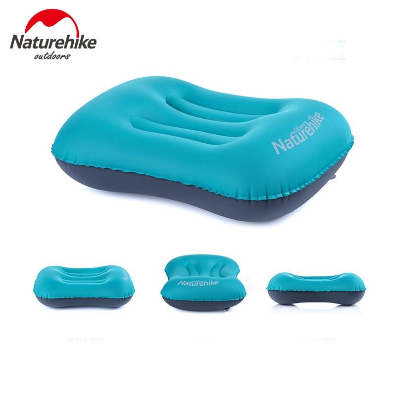 Naturehike Travel- ի փչովի բարձի մի կտոր փականով օդ բարձի բացօթյա ճամբարային քունը անկողնային պարագաներ `բարձի NH15T016-Z