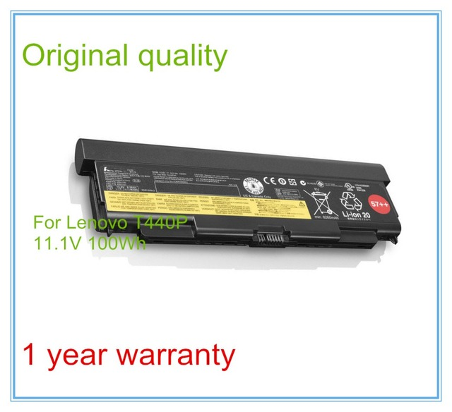 11.1 В 100Wh Оригинальные Новые Батареи Ноутбука для T440P T540P W540 L540 L440 45N1153 45N1152 45N1145 9 СОТОВЫЙ