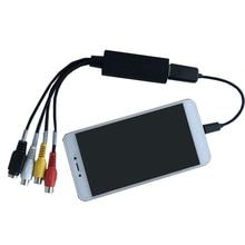 USB карта захвата для телефона Android VHS на DVD конвертер видеозахвата для Mac OS Linux Win7 8 XP Vista адаптер захвата конвертер