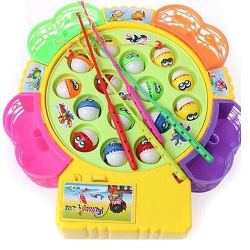 20 Stück Fisch Modell Satz Baby Magnetischen Fischerei Spielzeug Kind
