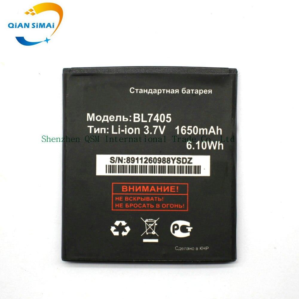 QiAN SiMAi 1PCS 1650mAh BL7405 New battery for Fly IQ449 Batterij Bateria high quality +Track Number