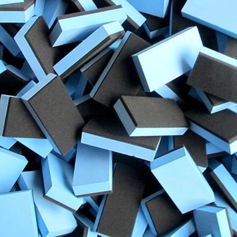 2Pcs New Car Applicator EVA Sponge Glass Wax Coat Cleaning Ceramic Supplies Set