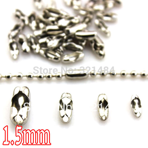 2000X 3-9MM Making Jewelry Findings DIY Necklace Silver Plate Opening Jump Rings