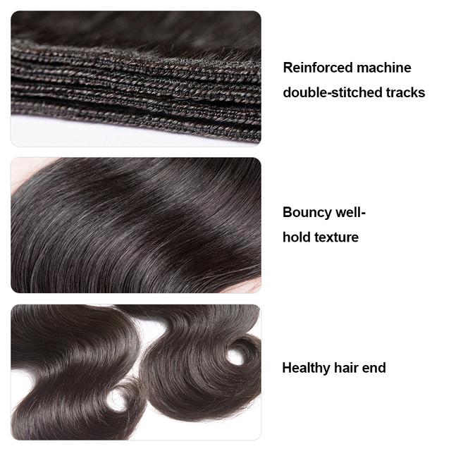 Beauty Brazilian Hair Weave Bundles Body Wave Human Hair