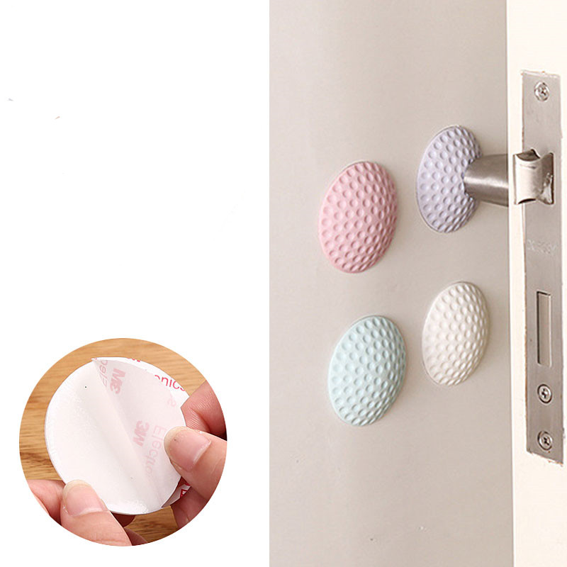 Random Color 4Pcs/Lot Protection Baby Safety Shock Absorbers Security Card Door Stopper Baby Newborn Care Child Lock Protection