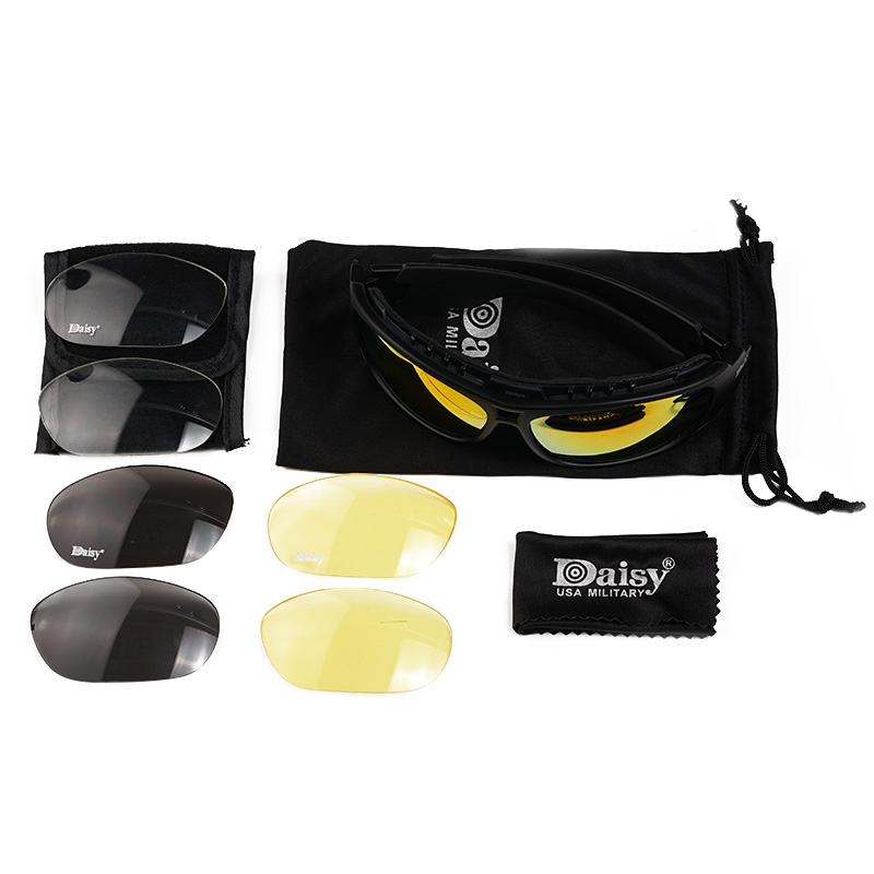 Daisy C6 Sunglasses CS Army Tactical Shooting Bullet-proof Military Goggles