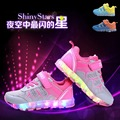 Usb Basket Led Kids Slippers Sports Sneakers New Arrival Charger Luminous Lighted Colorful LED Lights Children Sports Shoes