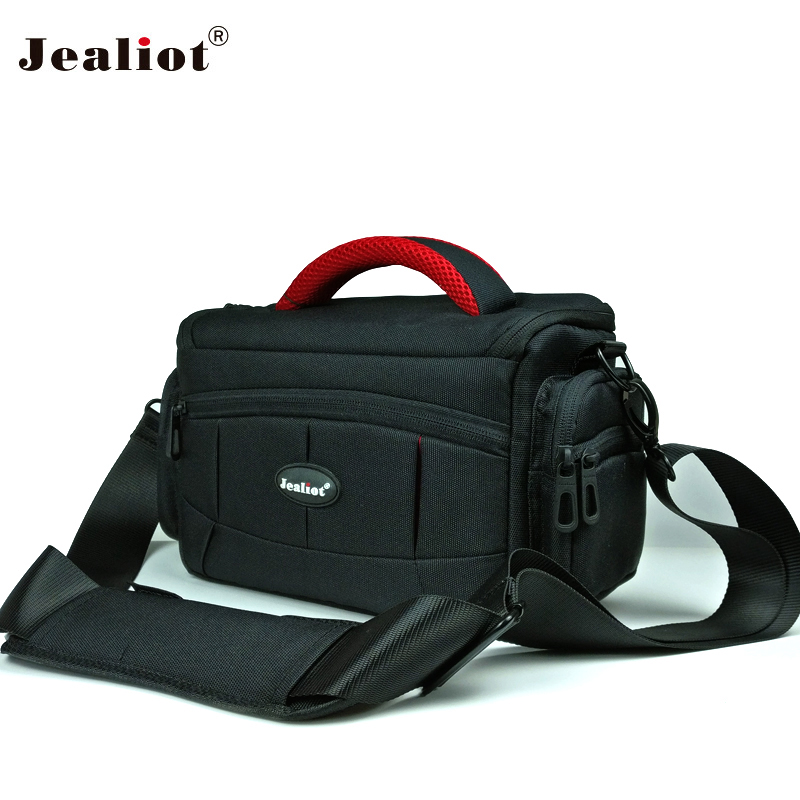 Jealiot bag for Camera bag padding SLR DSLR photo shoulder bag digital camera foto Video lens case for Canon 6d 70d 1300d Nikon jealiot waterproof slr dslr bag for camera bag shoulder digital camera video foto instax photo lens bag case for canon 6d nikon