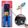 GreatDeal Networking Plier RJ45 RJ11 Crimping Cable Stripper Crimper EZ RJ45 Pressing Line Clamp Pliers For