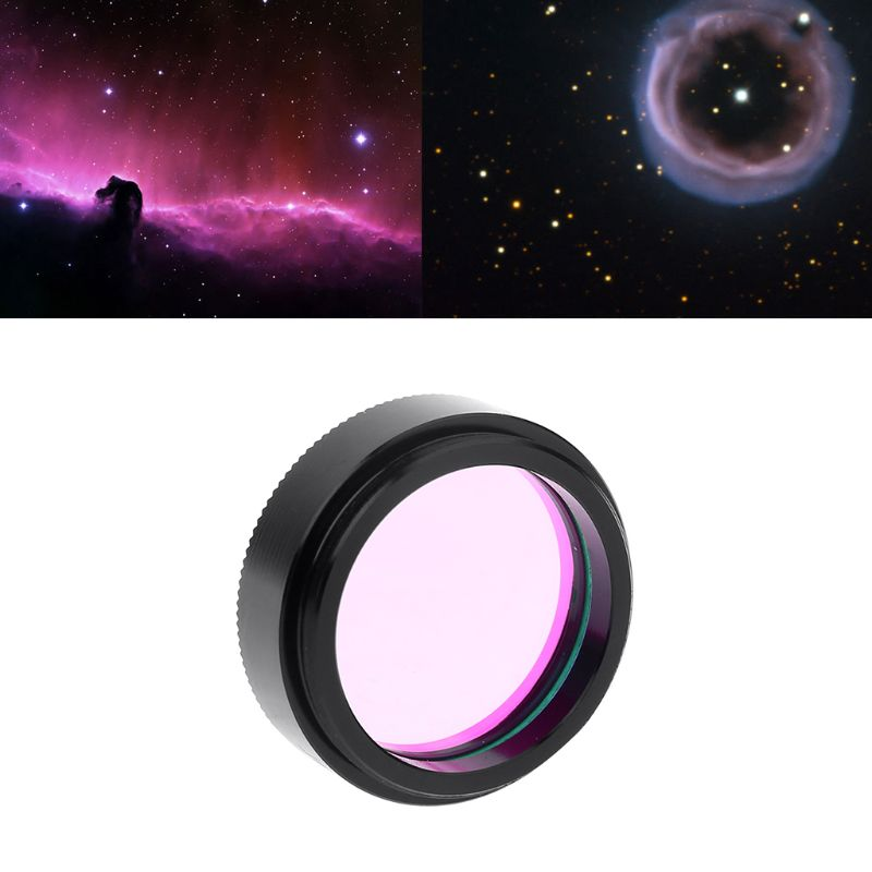 Serounder Telescope UHC Filter,2 lnch Ultra High Contrast Light Pollution Reduction Lens with Standard M45075mm Thread,for Telescope Eyepiece