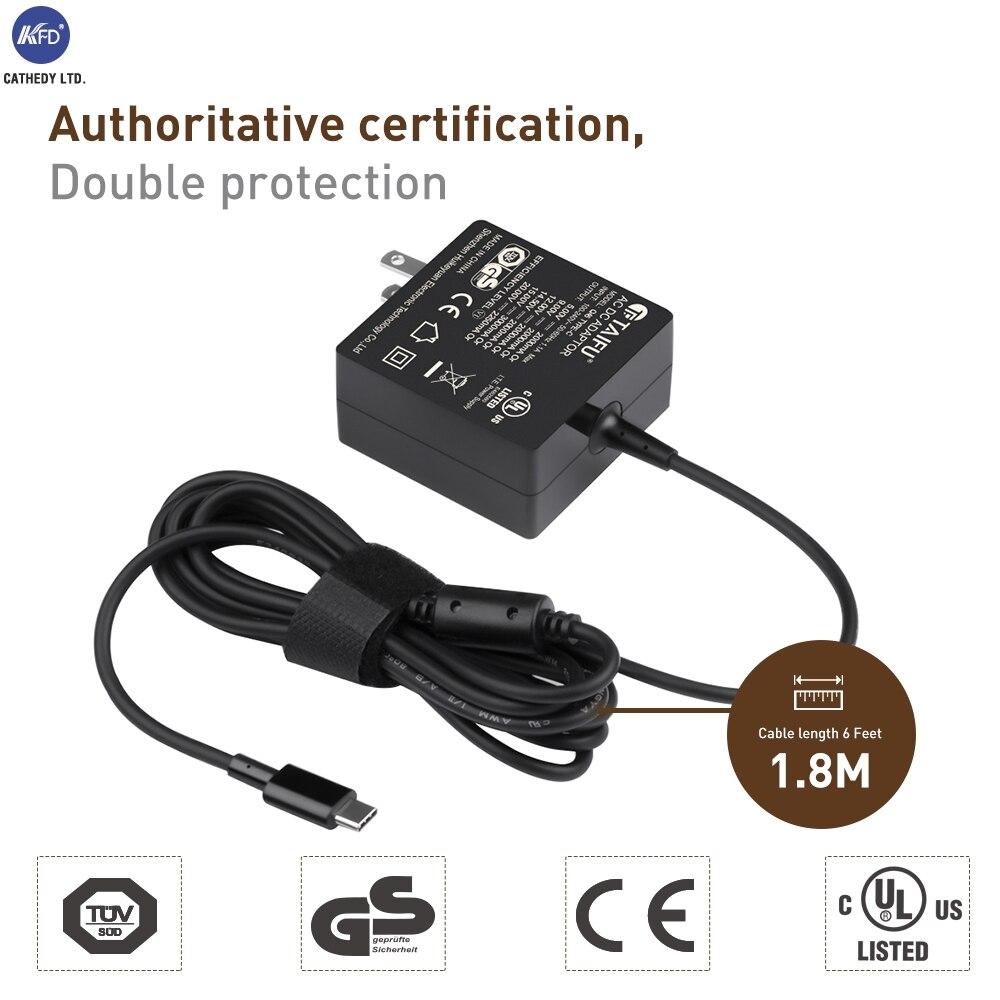 Mi Air 13 Новое 5 В/9 В/12 В/15 В/20 В 45 вт Тип USB-C адаптер переменного тока для сяо Mi Примечание Dell XPS13 HP сильнее X2 matebook Бесплатная доставка