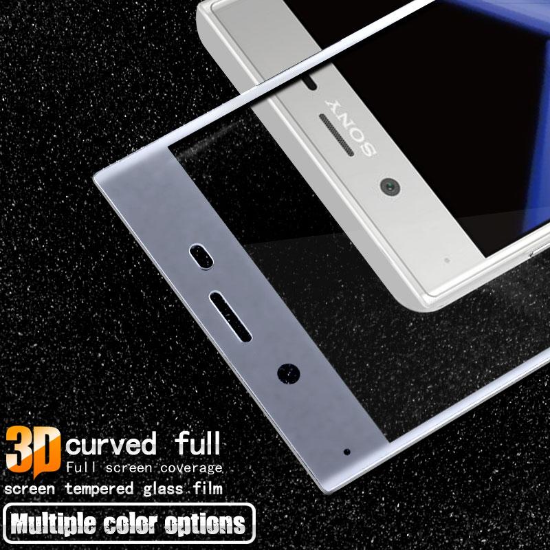 Pełnoekranowe szkło hartowane Do folii ochronnej Sony Xperia XZ - Części i akcesoria do telefonów komórkowych i smartfonów - Zdjęcie 2